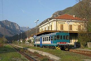 Garessio railway station Italian railway station