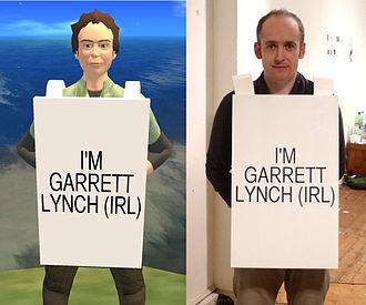 "Garrett Lynch - Garrett Lynch and his Second Life ""representation"""