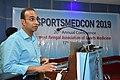 Gaurav Gupta Delivering Lecture - Shoulder Injuries in Sports - SPORTSMEDCON 2019 - SSKM Hospital - Kolkata 2019-03-17 3585.JPG