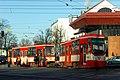 Gdańsk aleja Zwycięstwa – wykolejenie tramwaju (3).JPG