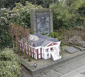 George Maduro - Model of the late 19th-century birthplace of George Maduro in Madurodam
