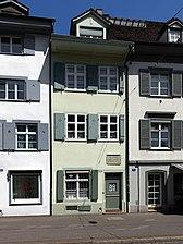 Geburtshaus von J.P. Hebel in Basel (Quelle: Wikimedia)