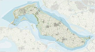 Goeree-Overflakkee - Dutch Topographic map of Goeree-Overflakkee, June 2015