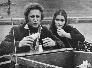Margot Kidder - Kidder with Gene Wilder in Quackser Fortune Has a Cousin in the Bronx (1970)