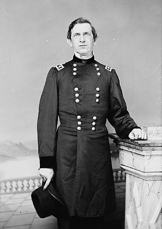 Edward Canby - Major General E. R. S. Canby in U.S. uniform.