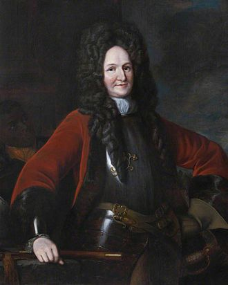 Battle of Killiecrankie - Hugh Mackay c.1640–1692; Dundee served with him in the Scots Brigade from 1674-1678