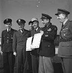 General Matthew B. Ridgeway and his Chief of Staff, General Alfred M. Gruenther.jpg