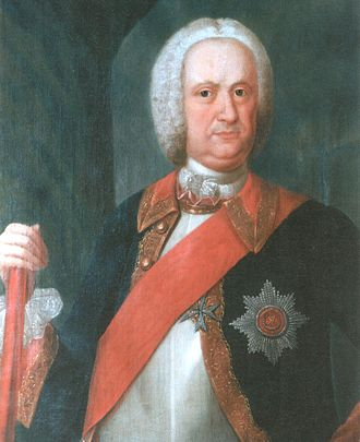 Kingdom of Finland (1742) - Imperial High Chamberlain, Baron Johannes Balthasar von Campenhausen (1689-1758), 1742-1744 Governor-General of the Kingdom of Finland