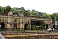 Geograph 2070690 Ornate railway viaduct in Bath.jpg