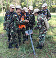 Georgia Wing Civil Air Patrol cadets collaborate.JPG