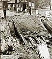 German soldiers near destroyed bridge, WWII (33633762524).jpg
