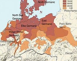 germanische stämme karte Germanen – Wikipedia
