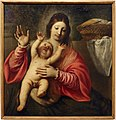 Gerolamo forabosco, madonna col bambino, ante 1660.JPG