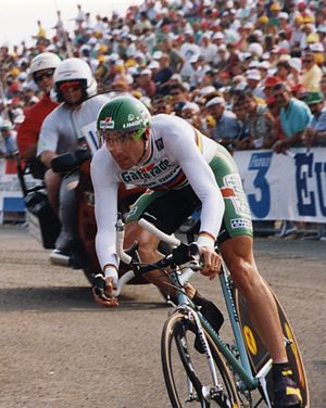Gianni Bugno - Bugno at the 1993 Tour de France