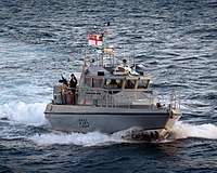 Gibraltar Based Patrol Boat HMS Sabre MOD 45153356