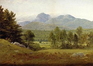 Sketch of Mount Chocorua, New Hampshire