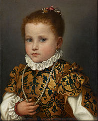 Ritratto di bambina di casa Redetti