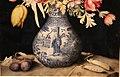 Giovanna garzoni, vaso cinese con tulipani e altri fiori, due susine e due piselli, 1641-52 ca. (GDSU) 03.JPG