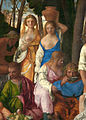 Giovanni Bellini and Titian - The Feast of the Gods - Detail bare-breasted maidens.jpg