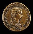 Giovanni da Cavino, Agrippina Senior, 14 B.C.-A.D. 33, Daughter of Marcus Agrippa, Wife of Germanicus (obverse), NGA 45040.jpg