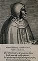 Girolamo Savonarola. Line engraving by P. Galle, 1572, after Wellcome V0005234.jpg