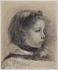 Giulia Bellelli, étude pour La famille Bellelli.jpg