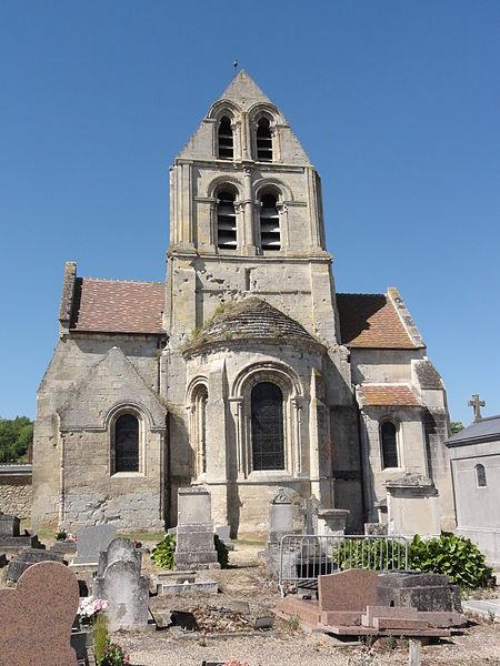 Glennes (Aisne) église