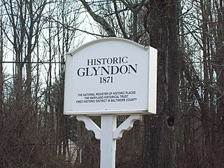 Glyndon Historic District United States historic place