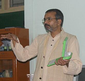Nagarjuna G. - Nagarjuna G. at a OLPC Workshop in Goa 2010