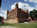 Gniew - zamek zakonu krzyżackiego ( XIII - XIV w. ) - panoramio.jpg