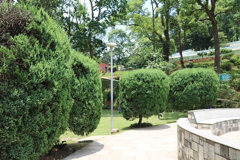 Labuan Botanical Garden in Malaysia