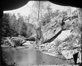 Gorge and stream on Lookout Mountain, Tenn - NARA - 529008.tif