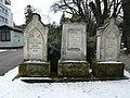Grabsteine der Prediger Raabe, Tremmel und Jarius.jpg