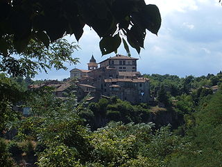 Gradoli Comune in Latium, Italy