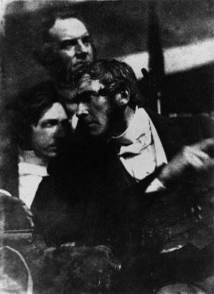 Robert Adamson (photographer) - Graham Fyvie, Robert Cadell and Robert Cunningham Graham Spiers, by Robert Adamson.