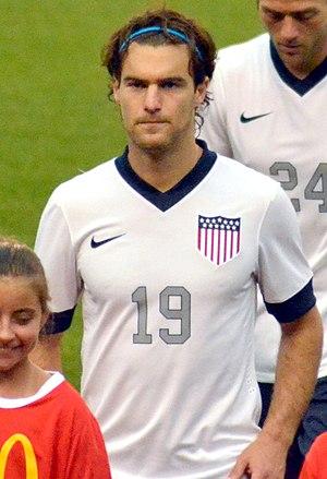 Graham Zusi - Zusi with United States in 2013
