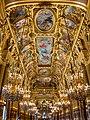 Grand Foyer of the Opera Garnier, Paris July 2013.jpg