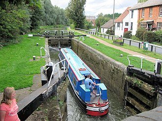 Grand Union Canal Grand Union Canal, Dudswell Bottom Lock No 48 - geograph.org.uk - 1514967.jpg