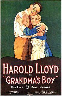 <i>Grandmas Boy</i> (1922 film) 1922 film by Fred C. Newmeyer