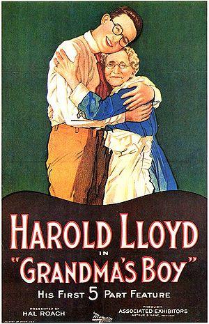 English: Movie poster for Grandma's Boy