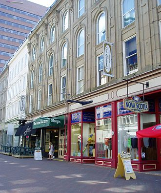 Granville Mall (Halifax) - A part of the Granville Mall