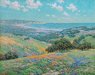Granville Redmond - Image: Granville Redmond Malibu Coast Spring