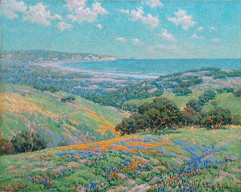 Granville Redmond Malibu Coast Spring.jpg