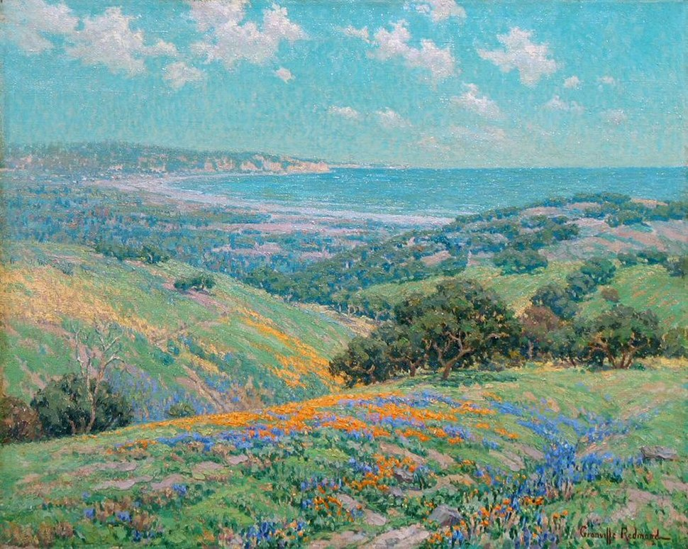 Granville Redmond Malibu Coast Spring