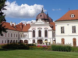 Gödöllő Palace - From the garden