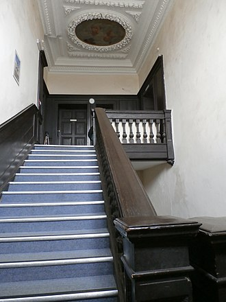 Potheridge - Great Potheridge House, staircase circa 1660-70