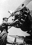 Greenville Army Airfield - Vultee BT-13 Engine Maintenence.jpg