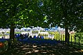 Greenwich Park - Blackheath Avenue - View NNW towards Old Royal Naval College 1712 Sir Christopher Wren.jpg