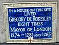 Gregory de Rokesley plaque London.jpg