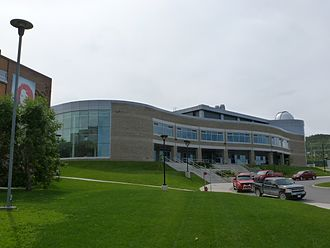 Corner Brook - The Arts and Science building of Grenfell Campus, Corner Brook